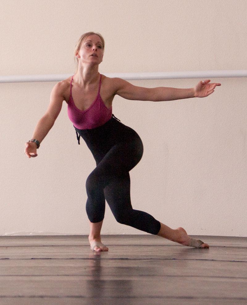Dancer in Dance Class